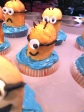 Happy Minion Cupcake
